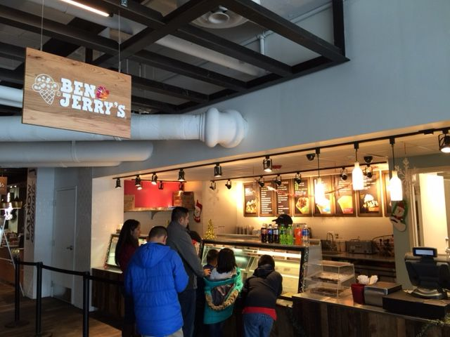 Ben & Jerry's Re-Opens at Navy Pier